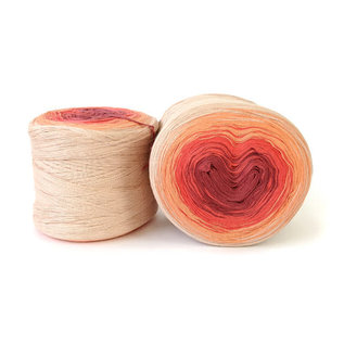 HiKoo Concentric Cotton - 2008 Shades of Coral