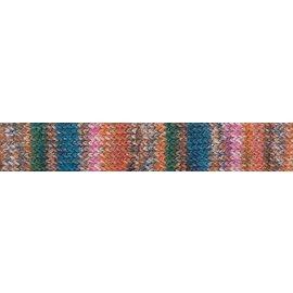 Gedifra Lana Mia Cotone - 2313 Orange, Turquoise, Pink