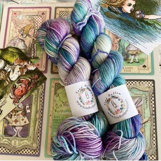 Toad Hollow Yarns 100% Toad - Alice Collection the Fish Footman