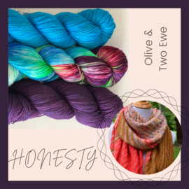 Olive & Two Ewe Honesty Kit 11 - The Color of Honesty