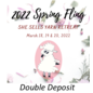 2022 Spring Fling Retreat - Deposit Double