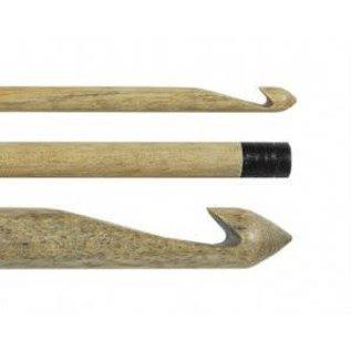 "Lykke Driftwood 6"" Wooden Crochet Hook US M13 / 9.00mm"
