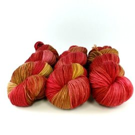 Squoosh Merino Cashmere Midi - Red Maple