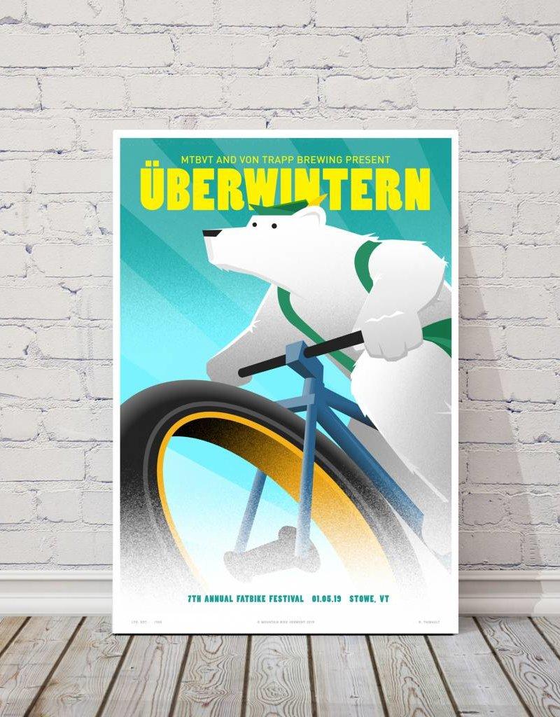 MTBVT MTBVT Limited Edition Digital Print 13x19 Uberwintern 2019