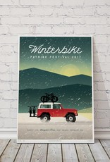 MTBVT Limited Edition Digital Print 13x9 Winterbike Bronco