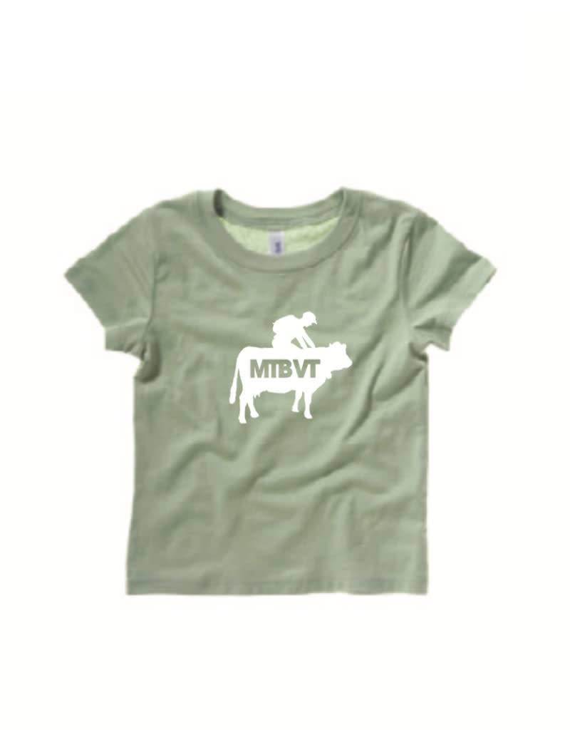 MTBVT MTBVT Toddler Cow Rider Tee