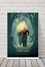 MTBVT MTBVT Limited Edition Digital Print 13x9 Winterbike Deep Woods