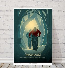 "MTBVT MTBVT Limited Edition Winterbike ""Deep Woods"" Print"