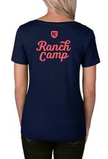 Ranch Camp Badge Scoop Tee