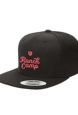 Ranch Camp Snap-back Black
