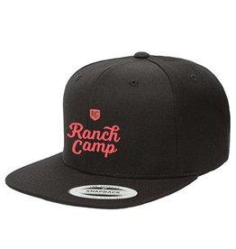 Ranch Camp Snap-back Black
