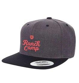 Ranch Camp Snap-back Char/Black
