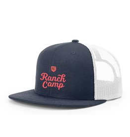Ranch Camp Trucker Hat blue/white