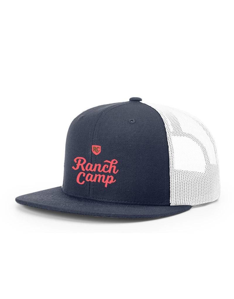 Ranch Camp Trucker Hat blue/white