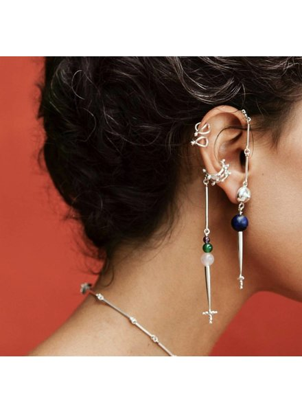Aysha Bilgrami Cruz Chain Earring - Single