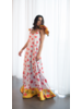 Jose Cuello DRESS - Akili with Flowers & Hearts - Size 8