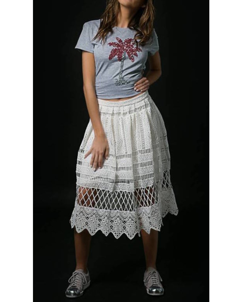 Emerging Designers Polly Palm Tree T-Shirt