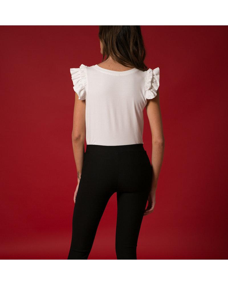 Emerging Designers Nina Nine Applique T-Shirt