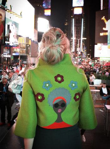 Bendita Seas Cacahual Groovy Green Jacket - Size 6