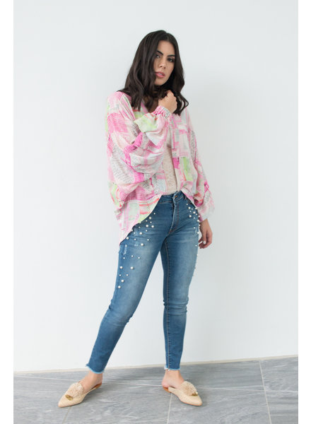 Art Teca Kimono pink fiesta - One Size