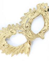 Anima Design Lace Mask Gold