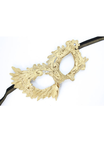 Anima Design Lace Mask Gold