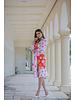 Jose Cuello Lolita Hearts and Flowers Dress & Belt - Size 8