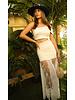 La ValentinA BODYSUIT - Claudi White One Shoulder - One Size