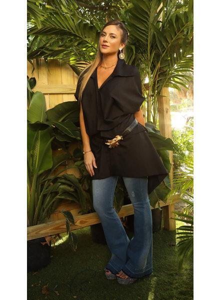 MEV Black Vest One Size