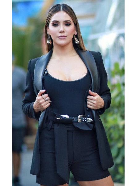 La Tucha Baztan Short Black S/M
