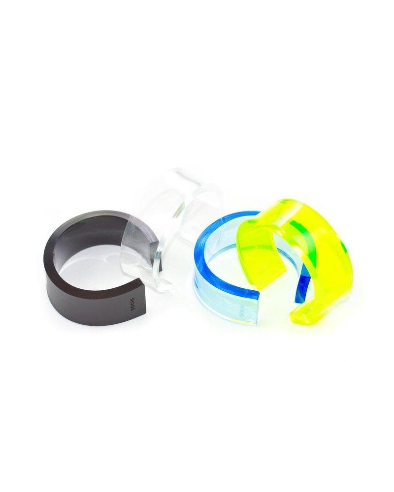 SOCHI Bracelet Acrilico Black Small