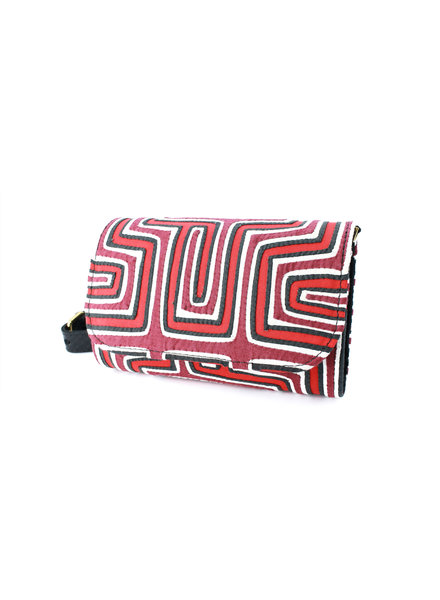 Nina Peñuela Koala Bag, Red, Black and White Print