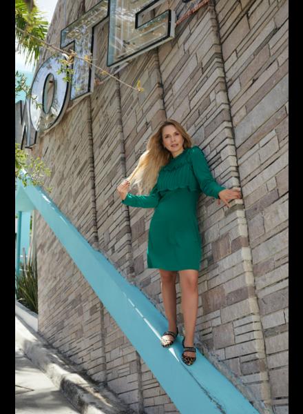 Green short Dress  Size S/M