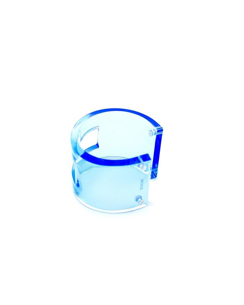 SOCHI BRACELET ACRILICO BLUE BIG