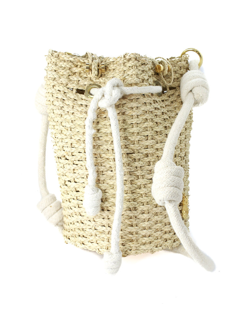 Palma Canaria Mini Handmade Bucket Bag