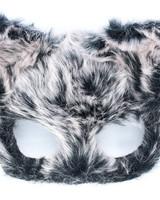 Anima Design cat mask plush grey