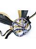 Anima Design rabbit mask sequin gold