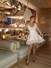 Rocky Wrap-Around White Ruffle Dress