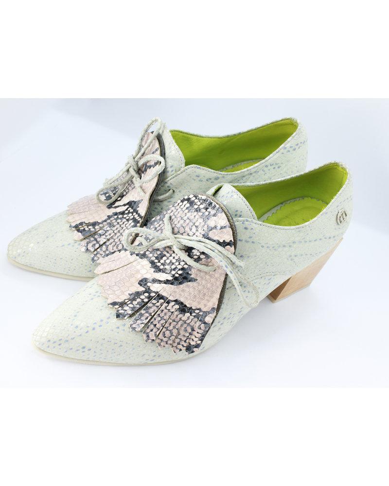 Misha Shoes Agata Oxford Ankle Boots