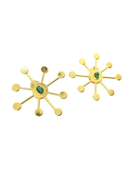 TAO Star 24k Gold Earrings