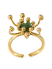 Tantra Ring Pistilo Emerald