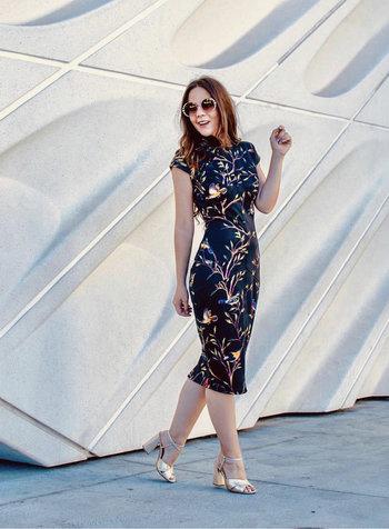 Nuvula DRESS - Black Short Sleeve