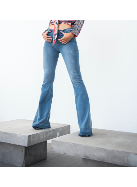 70's Blue Jeans Size 6