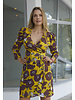 Almagores DRESS - Pastorini flowered - Size S/M