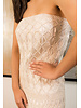 Palma Canaria DRESS Ó SKIRT - Iman White Hand-Knit - Size  S