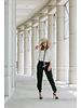 La Tucha PANT- Carmen Black with Side Zippers  - Size S