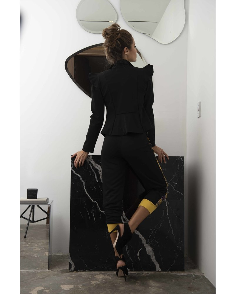 Suki Cohen JACKET - Black Clavel M