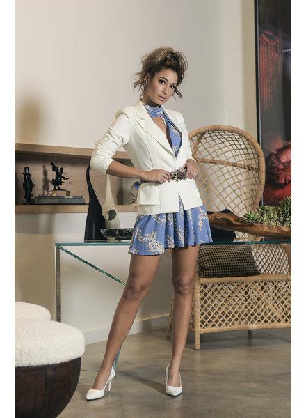 DRESS - Anastasia Blue Halter