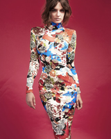 Nuvula DRESS - Nikita Floral Long Sleeve - Size M