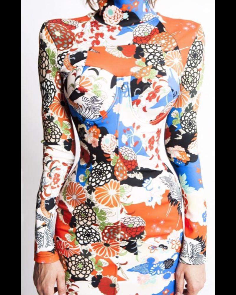 Nuvula DRESS - Nikita Floral Long Sleeve - Size S